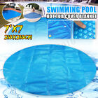 7 Round Spa Hot Tub Thermal Bubble Solar Blanket Cover Heat Retention 15 Mil