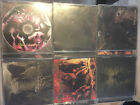 6x BRUTAL DEATH METAL CDS DISGORGE USA LITURGY DEFEATED SANITY BRODEQUIN