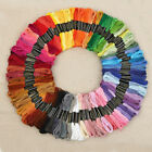 100PCS Multi Colors Cross Stitch Cotton Embroidery Thread Floss Sewing Skeins MM