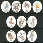 Japan 2011 50y Peter Rabbit set of 10 Fine Used