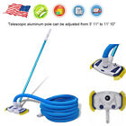 33 Swimming Pool Spa Vacuum Cleaning Tool Set With Telescopic Pole Brush Head