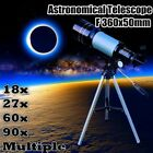 F360x50mm Professional Refractor Telescope Monocular Space Astronomical Scope US