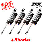 Kit 4 Fox Shocks 2.5-4 lift Front & Rear for Jeep Wrangler JK 10-17