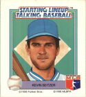 1988 Starting Lineup Royals Baseball Card #15 Kevin Seitzer