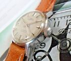 Vintage 1970's Lady's Fortis 17 Jewel Stainless Steel Swiss All Original Watch