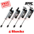 Kit 4 Fox Shocks 2.5-4 lift Front & Rear fits Jeep Wrangler JK 2010-2017