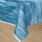 Ocean Blue Water Pool beach luau Under the sea Party Plastic Tablecover