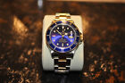 Blue Rolex Submariner SS & Gold 16803 Recently Serviced in Excellent Condition