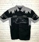 H D Harley Davidson Screaming eagle Button Down Shirt Size XL Mens Embroidered