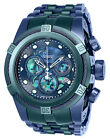 Invicta RESERVE CHRONOGRAPH 25919 53mm BOLT ZEUS Abalone Green/Blue Men's NEW