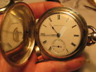Waltham  1857 model KWKS works Hunter 4 oz case/Foggs Pat.about 15 jl/manu 1872