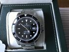 ROLEX Submariner 16610 Oyster Date SS Black Dial Men's Watch *MINT CONDITION*