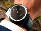 Asymmetrical JUNGHANS MEGA SOLAR ref. 21 4310 304 Ceramic Radio CTD Mens Watch
