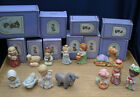 LOT1986 Avon HEAVENLY BLESSINGS NATIVITY Collection 13pc Complete Set Box Xmas