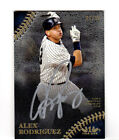 ALEX RODRIGUEZ YANKEES 2018 TOPPS TIER ONE PRIME PERFORMER SILVER INK AUTO 07 10