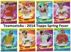 2014 Topps Spring Fever Baseball Promotion Checklist and Guide 17