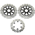 Yamaha YZF750R SP 1993 1994 1995 1996 1997 Front Rear Brake Disc Rotors Wave Set