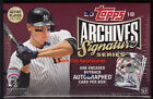 2018 Topps Archives Signature Series Active Baseball Factory Sealed Hobby Box