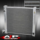 2 Row Core Aluminum Racing Cooling Radiator For 87 06 Wrangler YJ TJ 24L 42L