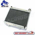 Aluminum Radiator for Honda TRX450R TRX450ER Electric Kick Start Engine Cooling