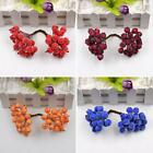 20 Pcs Mini Christmas Foam Frosted Fruit Artificial Holly Berry Home Decor DEN