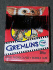 1984 Topps Gremlins Movie Photo Cards 36 Wax Pack Box 1984 Unopened