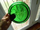 Anchor Hocking Forest Green Punch Bowl Base/Stand