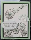BIRTHDAY HANDMADE CARD KIT STAMPIN UP DANDELION WISHES ANY OCCASION