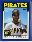 1986 Topps Traded Set Break # 11T Barry Bonds RC NM-MT OR BETTER *GMCARDS*