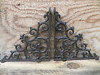 Set of 2 Cast Iron Shelf Brackets NewAntique-Look Fancy 9 1/2