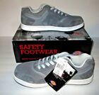 Dickies Shredder Steel Toe Safety Work Shoe Mens 10 Med Grey Sneaker Style NWT