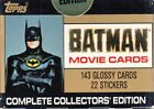 1989 Topps Batman Movie Trading Cards 8