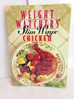 Weight Watchers Slim Ways Chicken 1995 Hardcover Dieting Health Vintage NICE