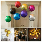 19inch 4D Round Shaped Aluminum Foil Balloon Wedding Birthday Party Decor QC