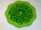 Star of David Green Glass Shaped Plate - 10