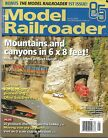 Model Railroader Magazine January 2019 Mountains and Canyons in 6 x 8 feet