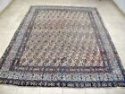 10X7 1940's HAND KNOTTED 70+YRS WORN DISTRESSED ANTQ PERSIAN MOUDD ORIENTAL RUG