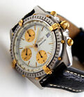 BREITLING Men's Watch, B13047 CHRONOMAT Model, Automatic Chronograph, WHITE Face