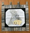 CROSS STITCH Alaska Native Seals Wall Hanging