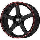 18 x8 Motegi Racing MR116 MR116B Black 5x112 5x45 35 ET MR11688046735 1 Rim