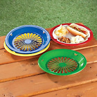 10 Reusable Plastic Paper Plate Holders Set of 12