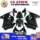 Fit for Kawasaki 2008-2012 EX250 250R Glossy Black Injection Fairing ABS n0l-B