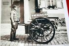 VINTAGE 5x7 TEXACO TEXAS COMPANY DELIVERY CART PHOTO