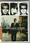 New VENGEANCE IS MINE DVD The Criterion Collection Japanese 70s Ken Ogata