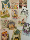 Vintage Easter CARDS DIE CUTS Gift Tags 48 Piece 12 Cute Styles