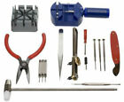GC 16pc Watch Repair Tool Kit Band Pin Strap Link Remover Back Opener US SHIPPER