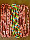 VinTaGe Sugar Coated Peppermint Life Saver  Candy Christmas Garland Plastic