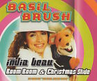BASIL BRUSH FEATURING INDIA BEAU - BOOM BOOM / CHRISTMAS SLIDE - RARE CD