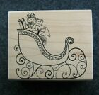 SANTAS SLEIGH Christmas Toys Stampabilities Rubber Stamp Stampinsisters 1782