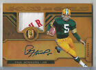 2017 Panini Gold Standard Paul Hornung Auto Autograph Logo Patch PACKERS # 1 1